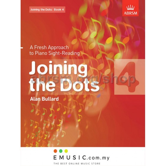 ABRSM Joining the Dots Piano Sight-Reading Exercise Book Grade 4 by Alan Bullard (Sight Reading)