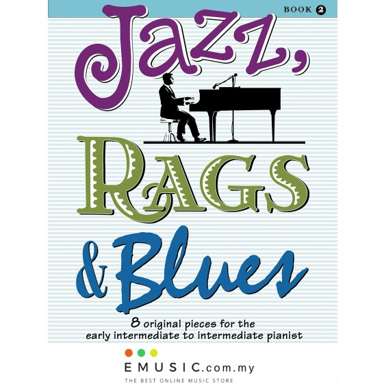 Alfred's Jazz, Rags & Blues Book 2 by Martha Mier (Book Only)