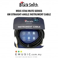 Blacksmith MSIC-STA6 6m Straight to Right Mute Series Instrument Cable