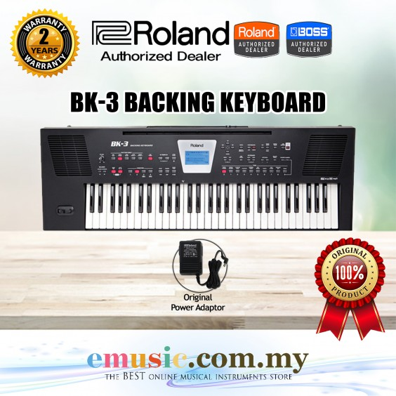 Roland BK-3 Backing Keyboard (BK3)