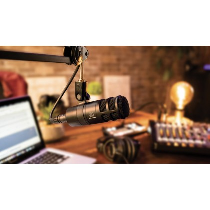 Audio Technica AT2040 Hypercardioid Dynamic Podcast Microphone (Audio-Technica / AT-2040 / AT 2040)