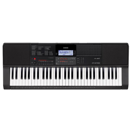 Casio CT-X700 61-key Portable Keyboard with Bench & Carrying Bag (CTX700 / CTX-700 / CT X700)