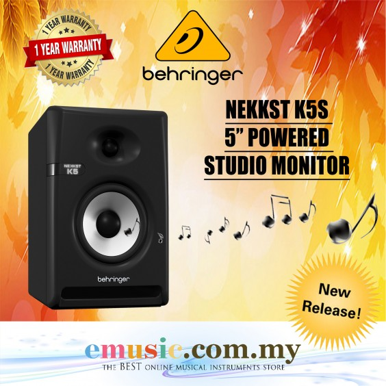 "Behringer NEKKST K5 5"" Powered Studio Monitor (K-5)"