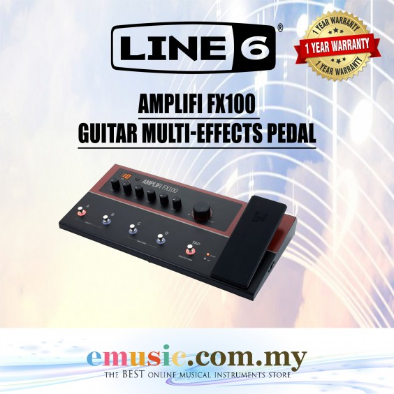 Line6 Amplifi FX100 Guitar Multi-Effects Pedal (Line 6 / AmplifiFX100)