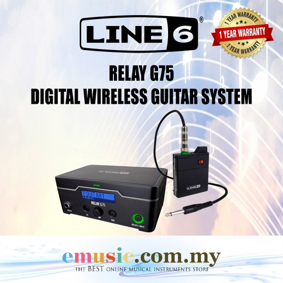 Line6 Relay G75 Digital Wireless Guitar System (Line 6 / G75)