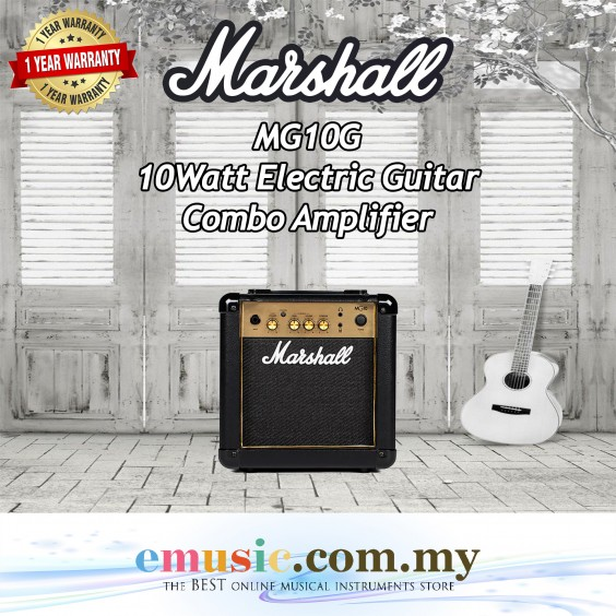 Marshall MG10G 10W 1x6.5 Guitar Combo Amplifier (MG10G-E / MG-10G)