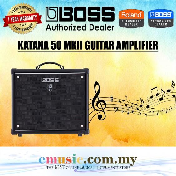 Boss KATANA-50 MKII Guitar Amp (KATANA50 MKII / KATANA 50 MKII)