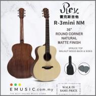 Rex Guitar R-3mini 36-inch Beginner Entry-level Professional Playing Acoustic Guitar (R3mini)