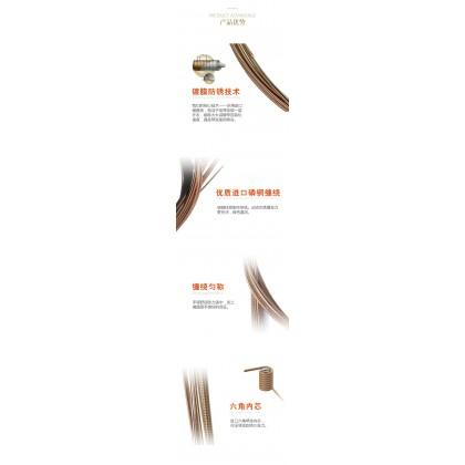 Bald Eagle Phosphor Bronze Super Anti-Rust Protection Light Coated Acoustic Guitar String .012-.053