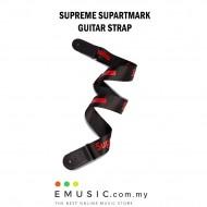 Sup Supartmark Supreme Guitar Strap Black