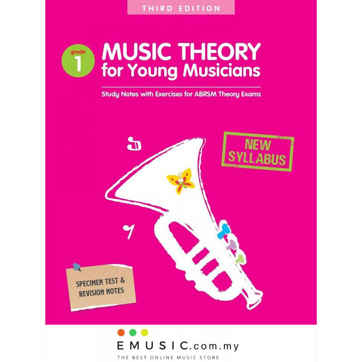 *NEW SYLLABUS* Poco Studio Music Theory for Young Musicians Grade 1 Third 3rd Edition by Ying Ying Ng